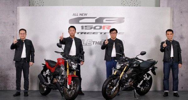 Honda meluncurkan CB150R terbaru