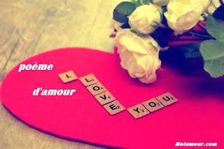 Photo Poème d'amour