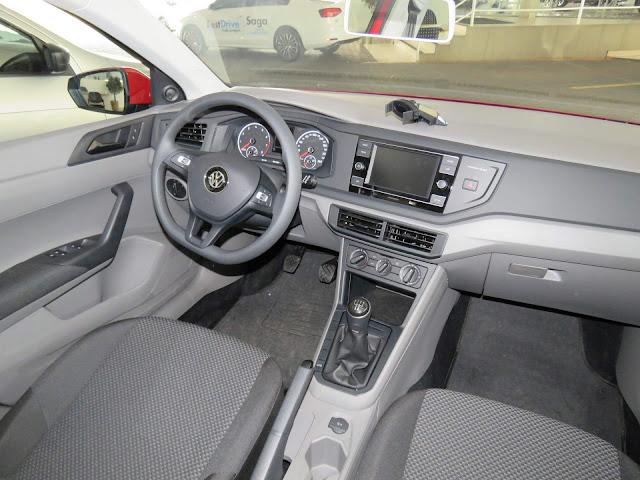 Novo Polo 2018 - interior