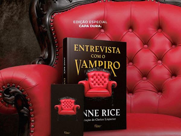 Pré-Venda Entrevista com Vampiro - Edição Capa Dura [Editora Rocco]
