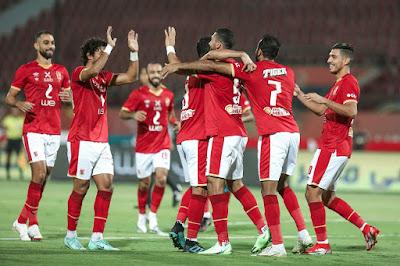 اهداف مباراة الاهلي وسيراميكا كليوباترا (4-0) الدوري المصري