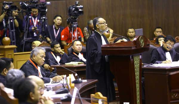 MK Tolak 35 Saksi Yang Mau DiHadirkan Oleh Tim Prabowo  Dan Sandi