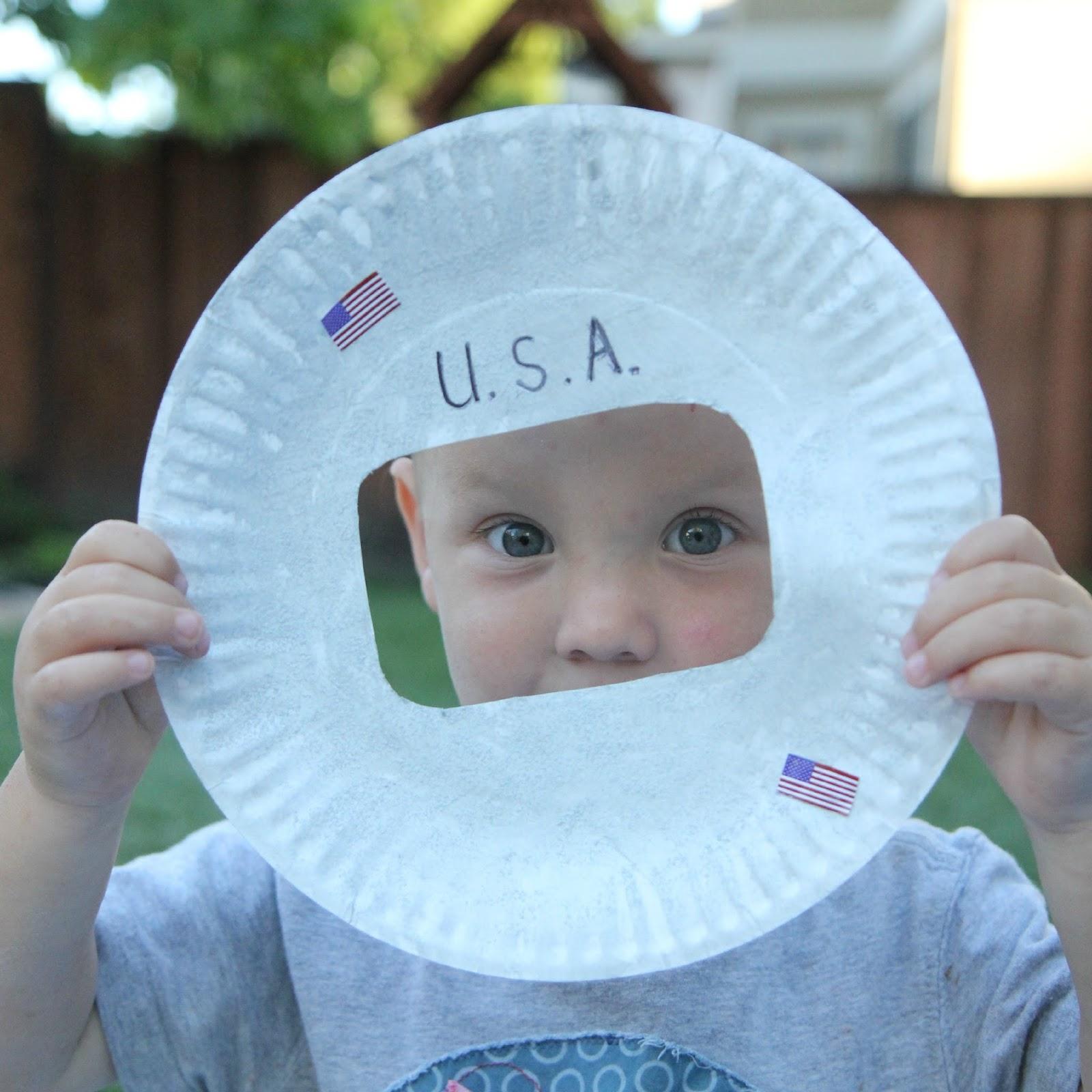 astronaut helmet craft preschool - photo #10
