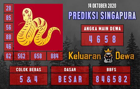 Keluaran Dewa SGP Rabu 14 Oktober 2020