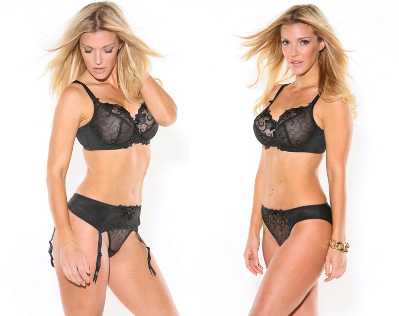 0a65b660825a Victoria Classic Lingerie: Fit Fully Yours 2536 Joyce See-Thru Lace ...