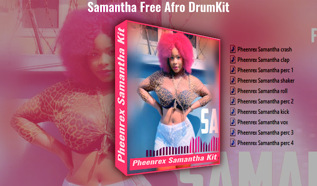 Samantha-Free-Afro-DrumKit-cover