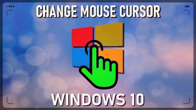 تغيير حجم وشكل مؤشر الماوس أو مؤشر الفأرة على الويندوز 10 بدون برامج