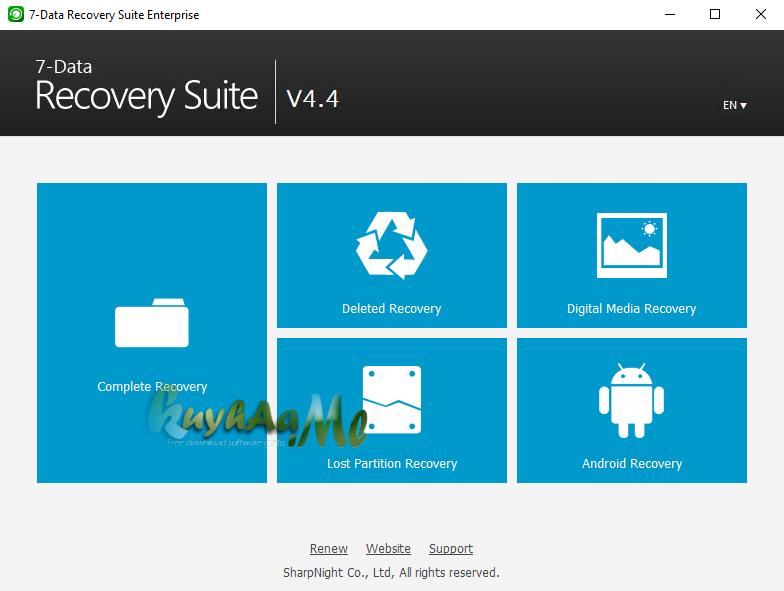 7-Data Recovery Suite 4.4 Enterprise Full Terbaru