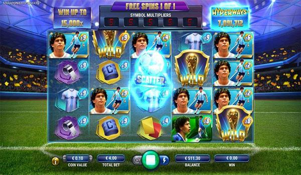 Main Gratis Slot Indonesia - Maradona Hyperways GameArt