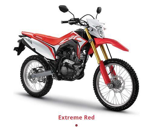Pilihan Warna Honda CRF150L