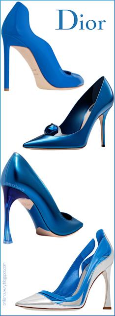 Blue Dior Shoe Collection #brilliantluxury