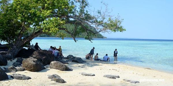 destinasi pulau kelagian pahawang lampung