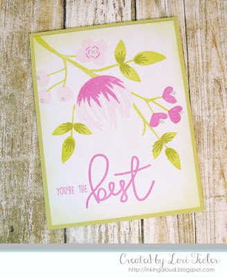 You're the Best card-designed by Lori Tecler/Inking Aloud-stamps from Concord & 9th