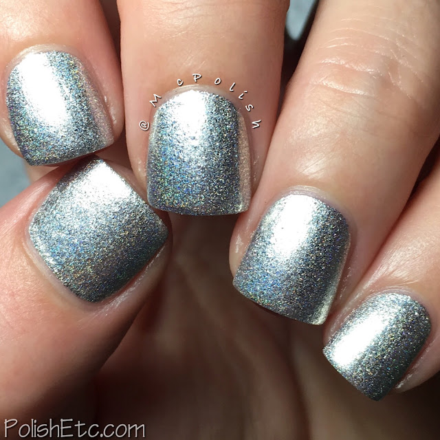 Nine Zero Lacquer - Men of Letters Collection - McPolish - Angel Blade