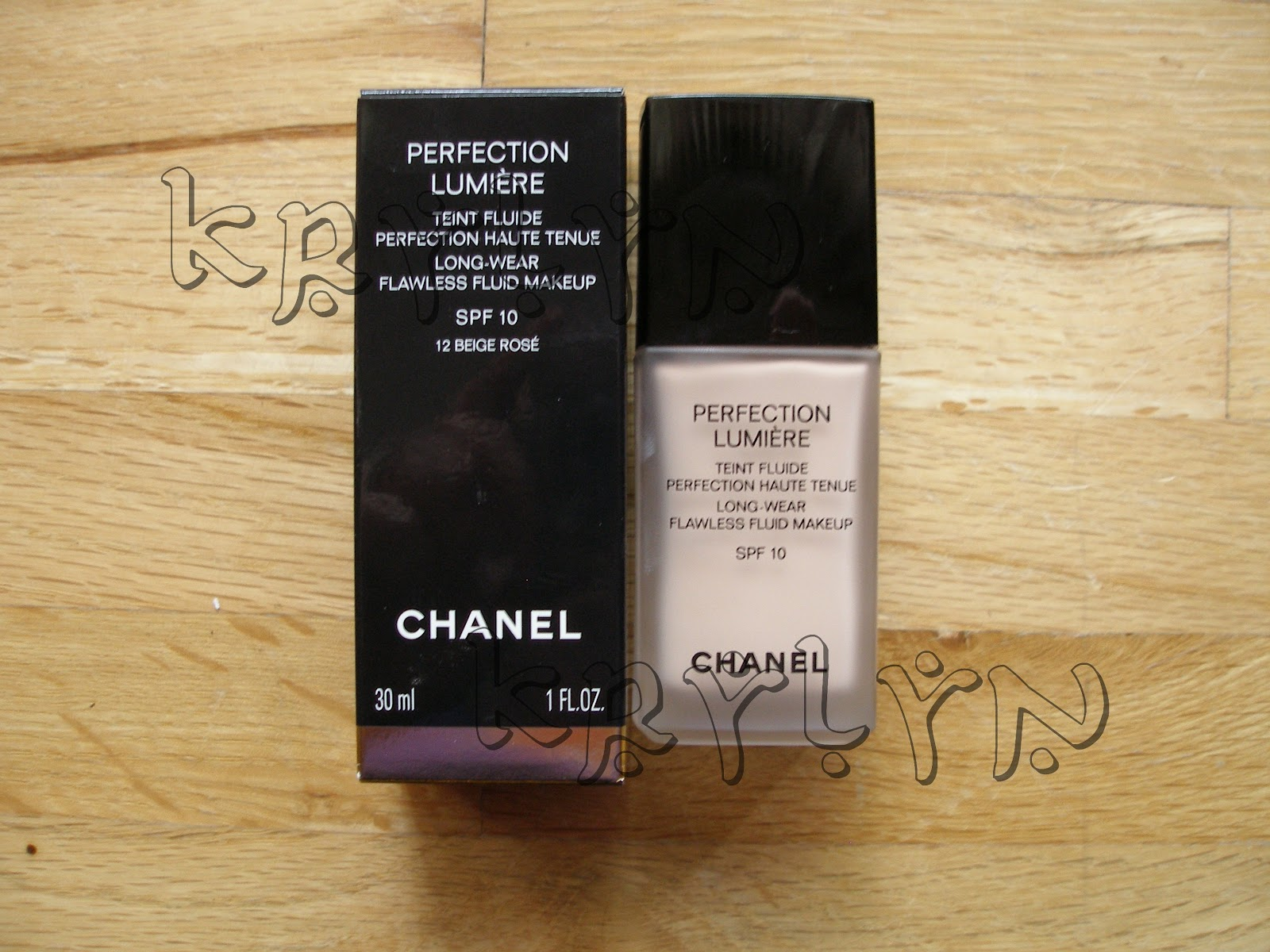 Krylyn Chanel Perfection Lumiere Spf 10 Review