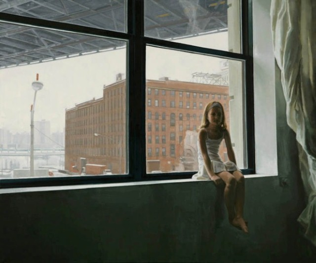 Обманчиво-спокойные картины. Laura Karetzky 13