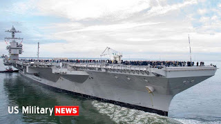 US Navy's $13 Billion Aircraft Carrier - Scary USS Gerald R. Ford