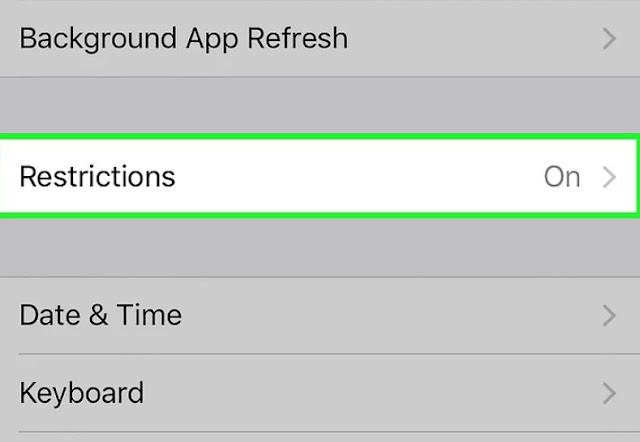 كيفية حذف تطبيقات iPhone الايفون