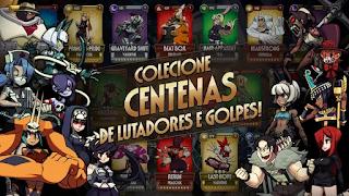 Skullgirls RPG de Luta mod apk