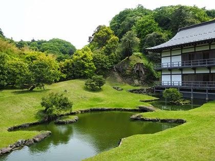 สวนในวัดเซนโคจิ