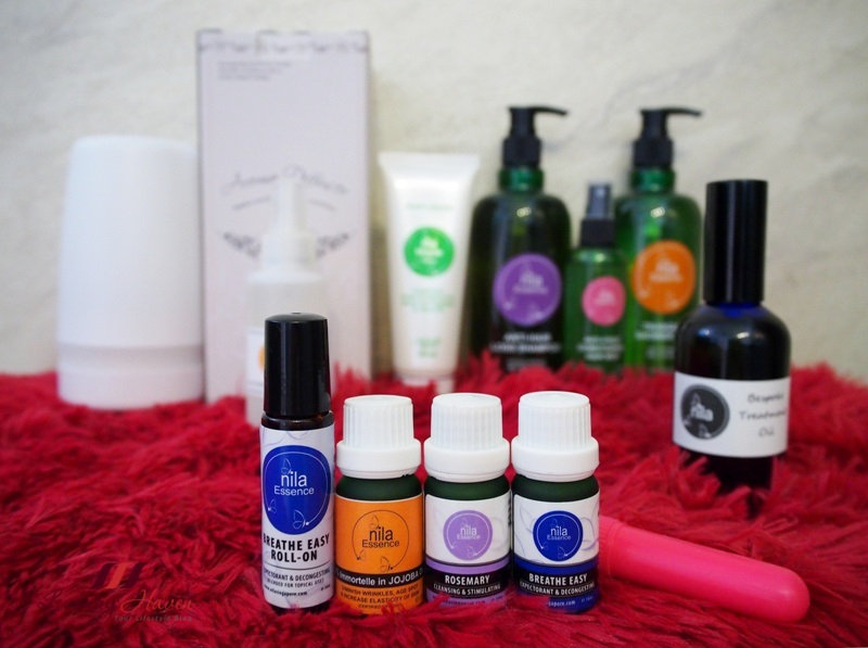 shaw centre nila singapore essential oils promotion