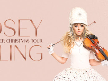 Lindsey Stirling will Electrify Your Holiday Season with a Live Performance at Oven's Auditorium + Ticket #Giveaway