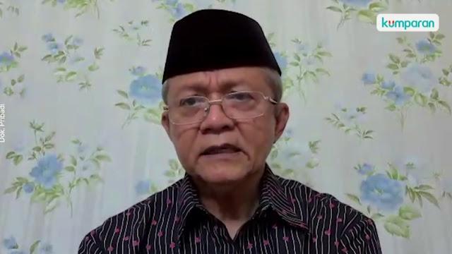 Anwar Abbas Menilai Ada Keganjilan dari Alasan Pemerintah Membubarkan FPI