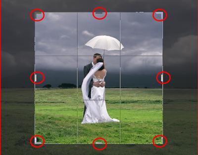 cara potong gambar dengan crop tool di photoshop