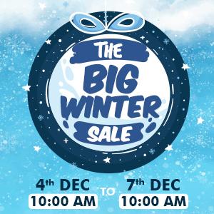 The Big Winter Sale | 10:00 AM_04 December 2019 To 10:00 AM_07 December 2019