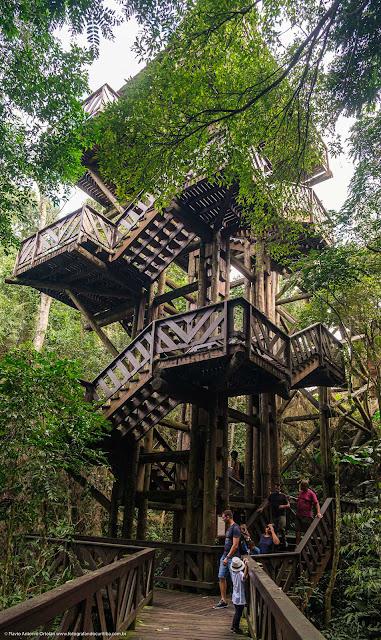 Torre do Filósofos (Torre das Vertigens do Espírito) no Bosque Alemão