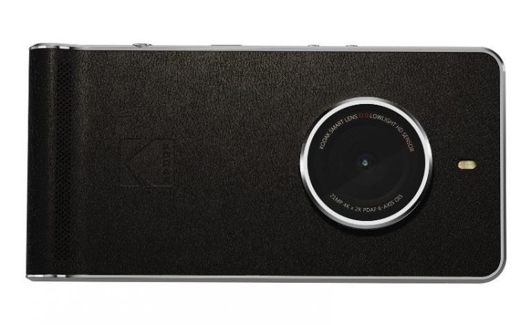 Смартфон Kodak Extra, вид сзади