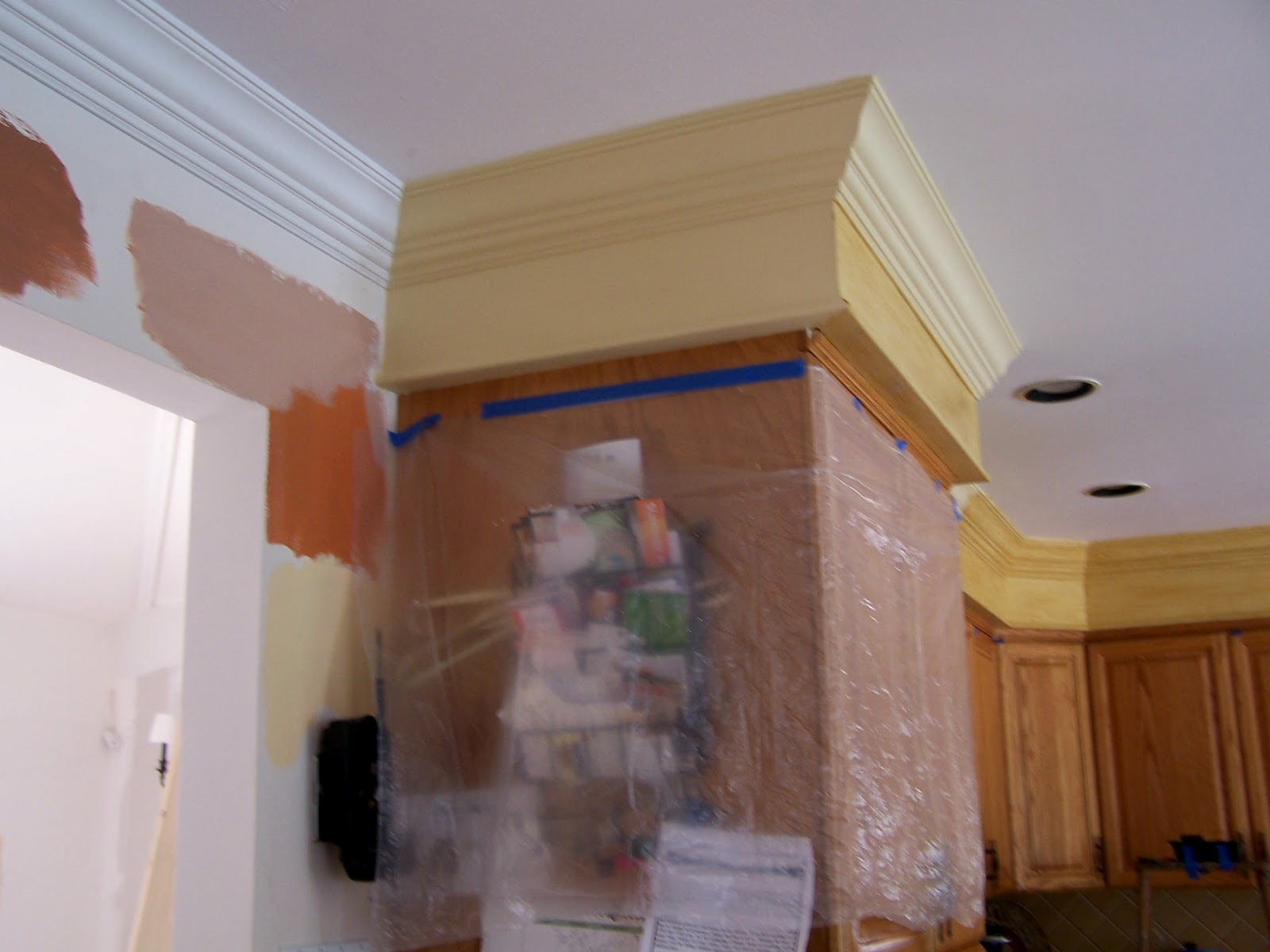 Crown Moulding Above Kitchen Cabinets The Colorful Life With Studio Of Decorative Arts What To