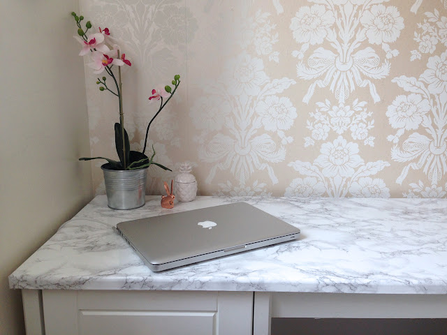 Ideal DIY marble table
