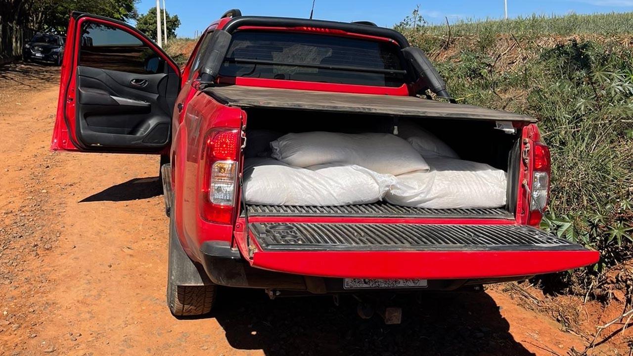 Policia prende homem com mais de 50kg de cocaína em Monte Mor