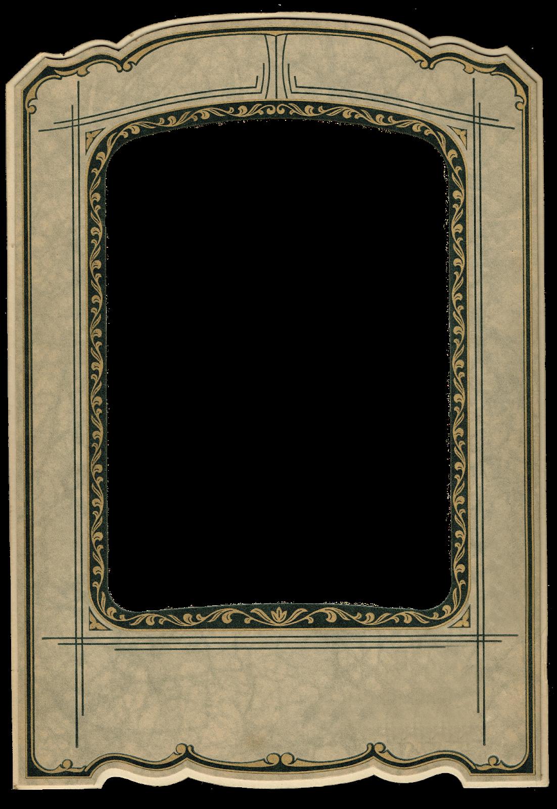 Antique Photo Frame - Antique Graphics Wednesday | Knick ...