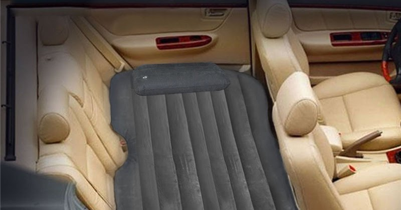 letto mobile gonfiabile nel materasso gonfiabile posteriore per auto-guida giro ispessimento di ...