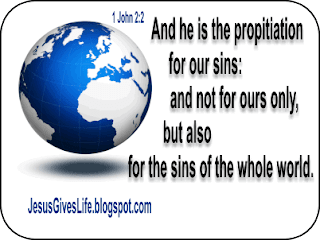 Forgiveness of Sins of the Whole World