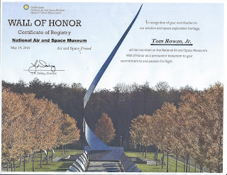 Wall of Honor - Tom Rowan Jr.