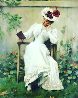 women reading books