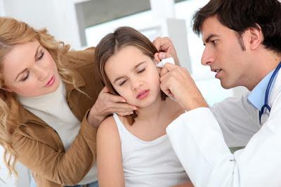 Biểu hiện chính khi bệnh viêm tai giữa