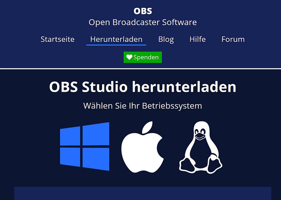 OBS-Studio Download