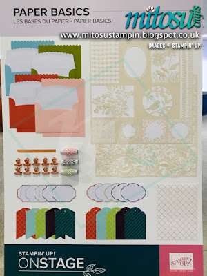 Paper Basics NEW Stampin' Up! Products #onstage2019 Display Board from Mitosu Crafts UK