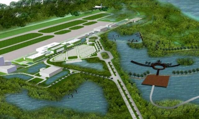 Bandara Ahmad Yani Semarang Mengambang DIatas Air