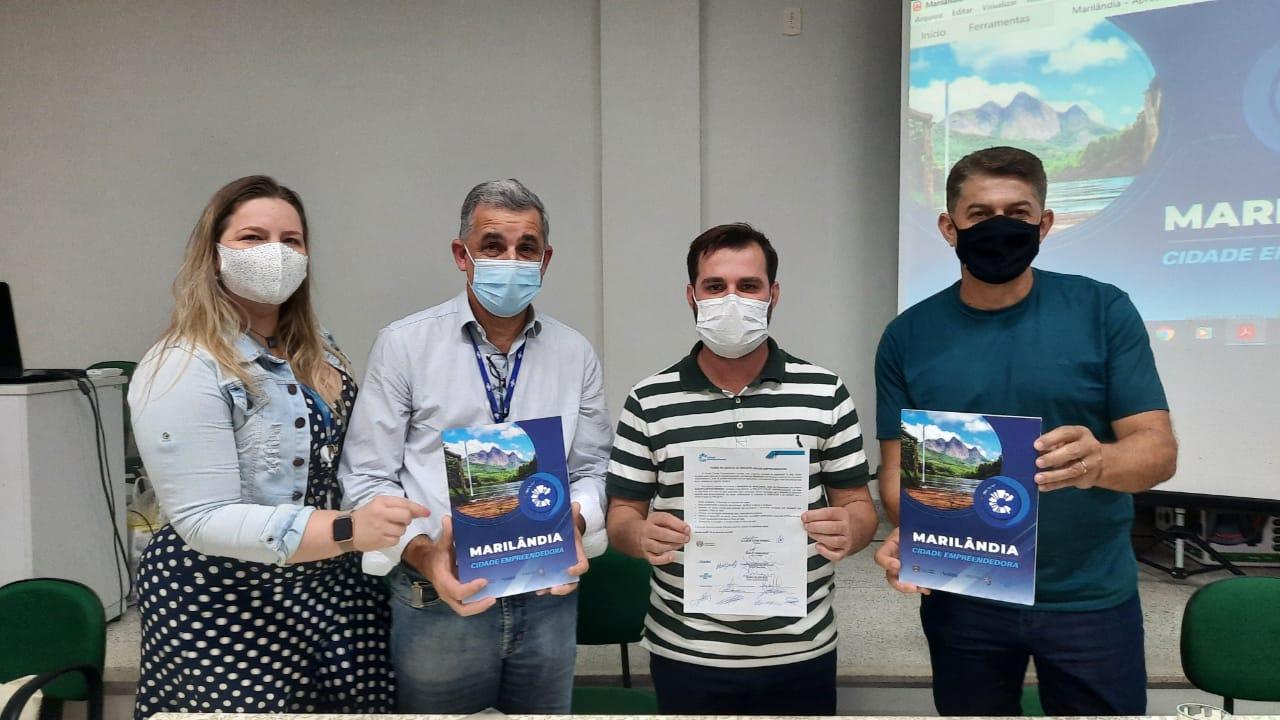 Marilândia inicia oficialmente as ações do Cidade Empreendedora
