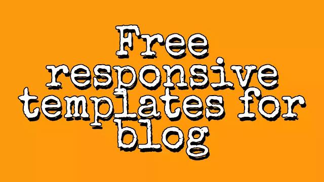 free responsive templates. blog ke liye free template kaha se download kare? full jankari 2019 Tec India Sandeep.