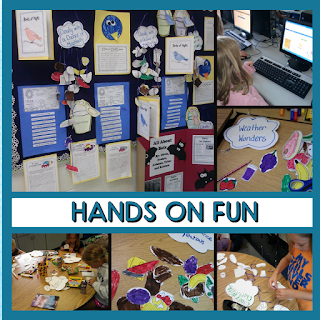 Hands on projects help students write with a purpose. These fun projects were completed as part of a summer reading camp. Check out this post for more information