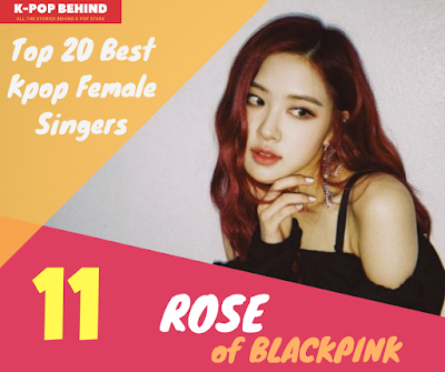 blackpink rose