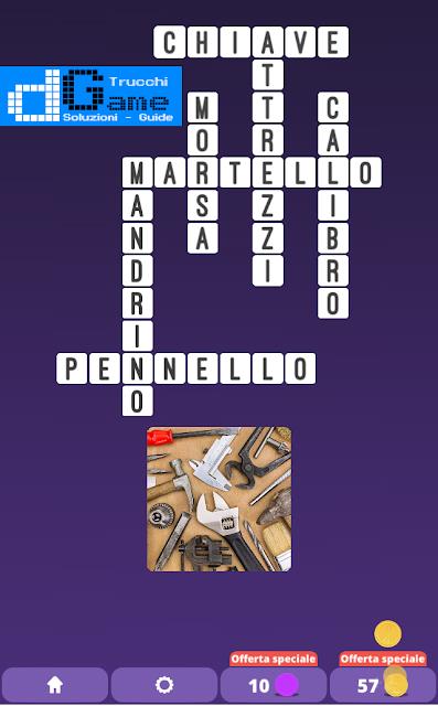 Soluzioni One Clue Crossword livello 4 schemi 2 (Cruciverba illustrato)  | Parole e foto