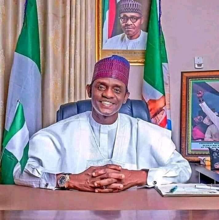 Yobe Governor Buhari Cos Maimala Buni Yobe President Muhammadu Buhari