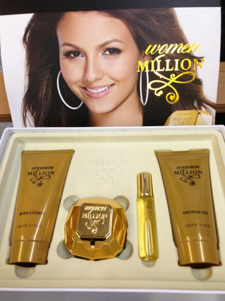 I Hate Fake Perfume Fake Lady Million By Paco Rabanne Perfume Gift Set